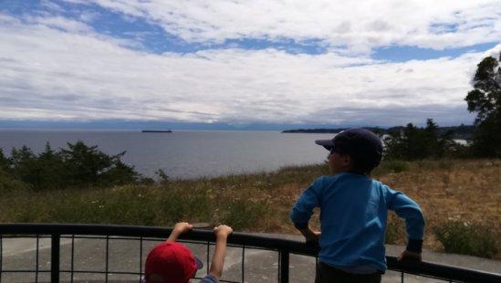 大砲の置かれた場所からの景色は流石に見晴らしが良いです