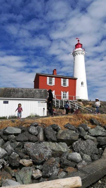 1860年に建てられたレンガ作りの灯台の家