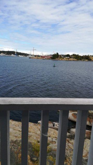灯台の上から見える景色