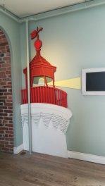 灯台の中のデザイン